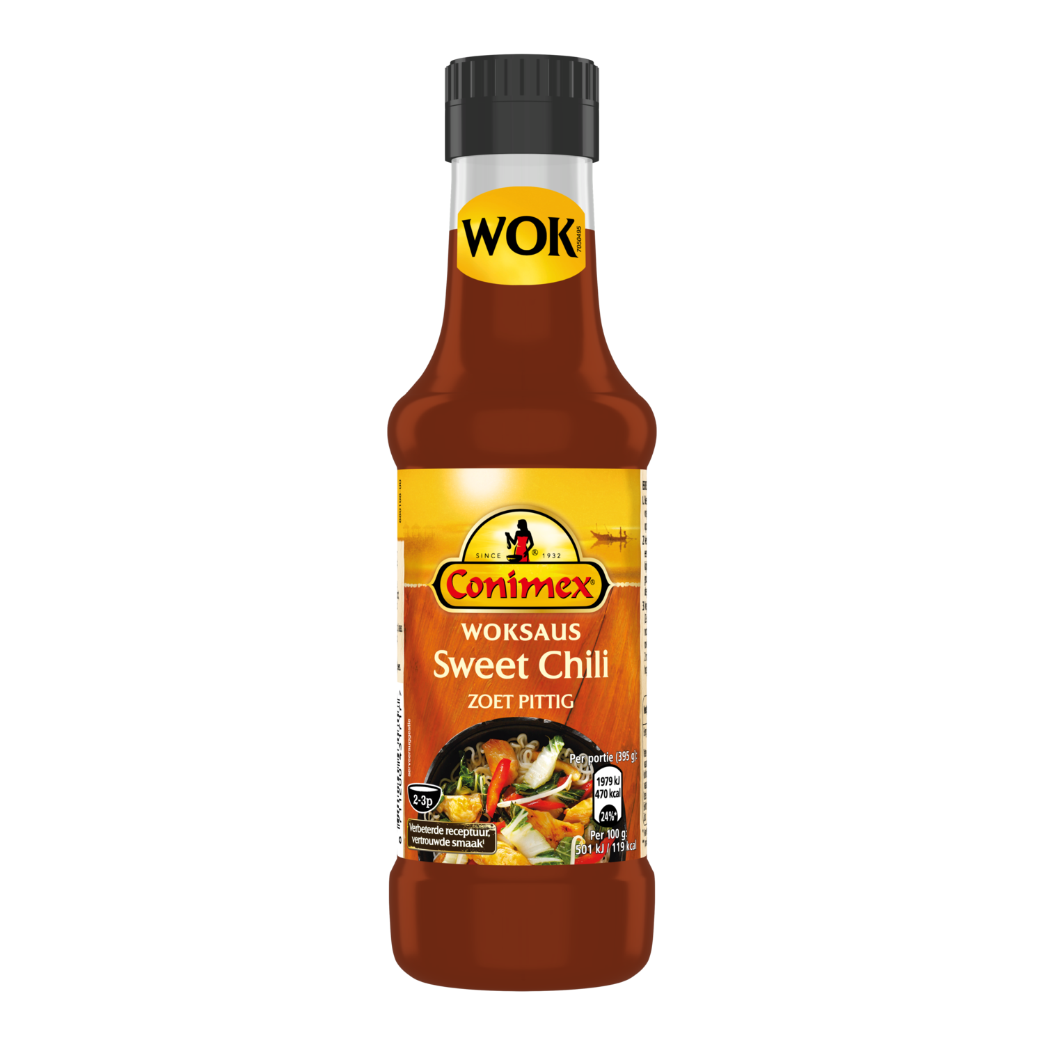 Conimex Woksauzen SWEET CHILI 175 ML 8711200431717