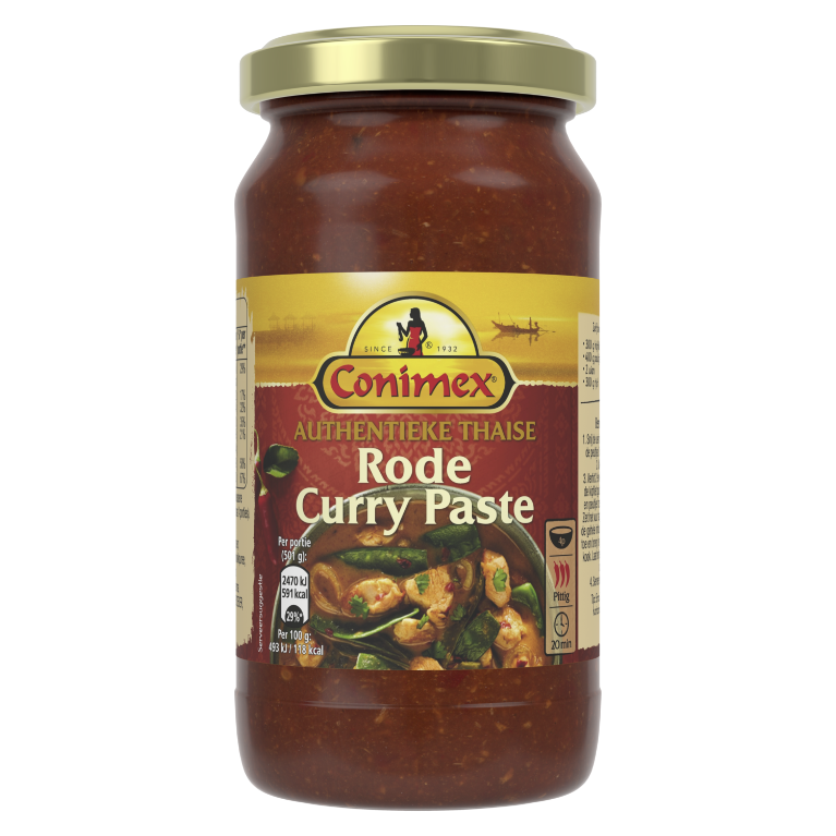 Conimex Thaise Rode Curry Paste 200 GR 6
