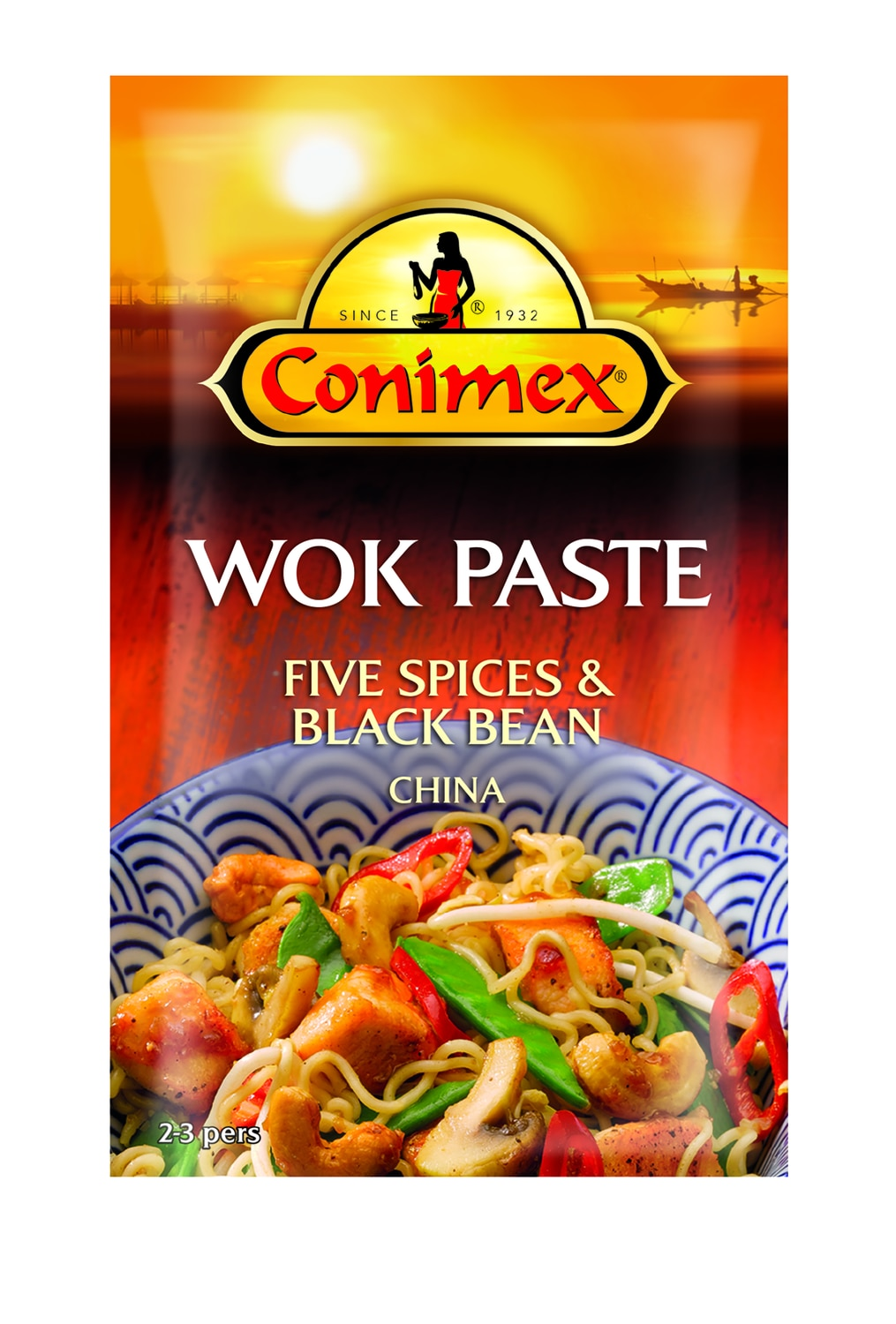 Conimex Wokpasta Five spices & Black bean 130 gr